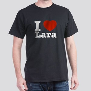 I Love Lara Dark T-Shirt
