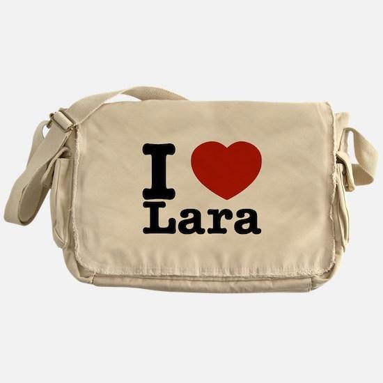 I Love Lara Messenger Bag