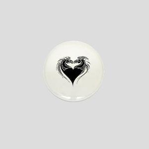 Horses Heart Mini Button