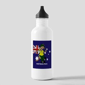 Personalized Australia Soccer Kangaroo Stainless W