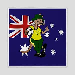 Australia Soccer Kangaroo Queen Duvet