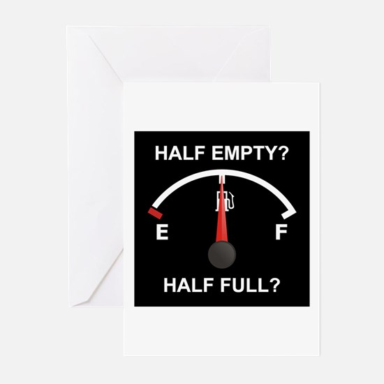 Half Empty Or Half Full? Greeting Cards (Package o