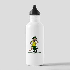 Australia Soccer Kangaroo Stainless Water Bottle 1