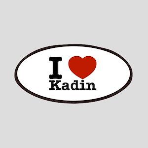 I Love Kadin Patches