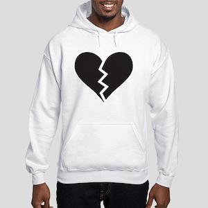 XLOVE: BROKEN-HEART Hooded Sweatshirt