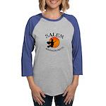 Salem_Witch Womens Baseball Tee
