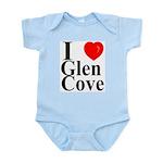 I Love Glen Cove Infant Creeper