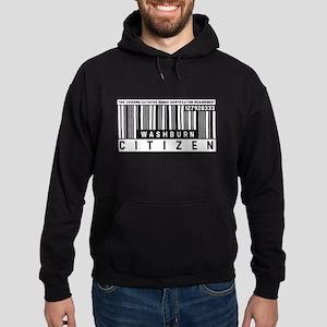 Washburn Citizen Barcode, Hoodie (dark)