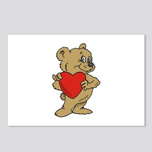 Bear Heart Postcards (Package of 8)