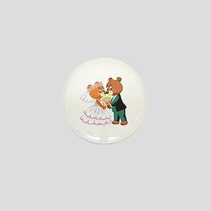 Wedding Bears Mini Button