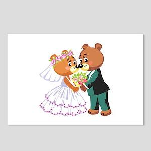 Wedding Bears Postcards (Package of 8)