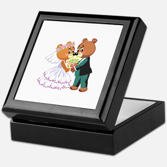 Wedding Bears Keepsake Box