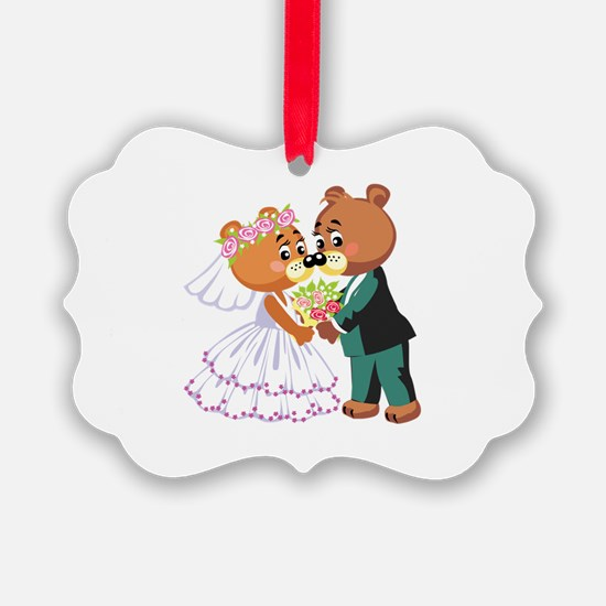 Wedding Bears Ornament