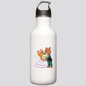 Wedding Bears Stainless Water Bottle 1.0L