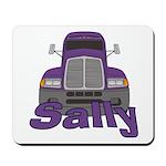 Trucker Sally Mousepad