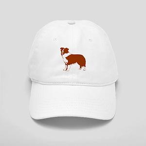 Red Border Collie Cap