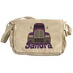 Trucker Sandra Messenger Bag