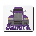 Trucker Sandra Mousepad
