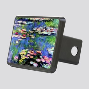MONET WATERLILLIES Rectangular Hitch Cover