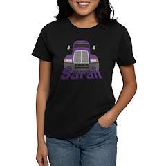 Trucker Sarah Women's Dark T-Shirt