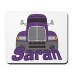 Trucker Sarah Mousepad