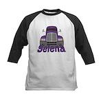 Trucker Selena Kids Baseball Jersey