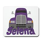 Trucker Selena Mousepad