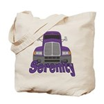 Trucker Serenity Tote Bag