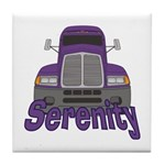 Trucker Serenity Tile Coaster