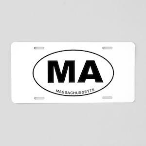 Massachussetts State Aluminum License Plate
