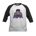 Trucker Sharon Kids Baseball Jersey