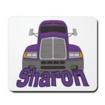 Trucker Sharon Mousepad