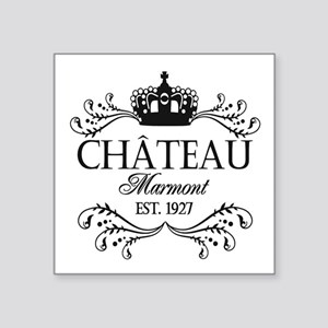 "FRENCH CHATEAU Square Sticker 3"" x 3"""