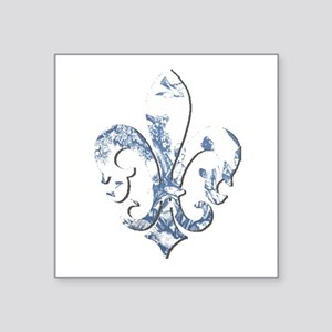 "FRENCH TOILE Square Sticker 3"" x 3"""