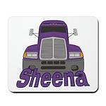 Trucker Sheena Mousepad