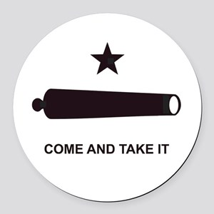 COMEANDTAKEITBEACHBAGTEMPLATE Round Car Magnet