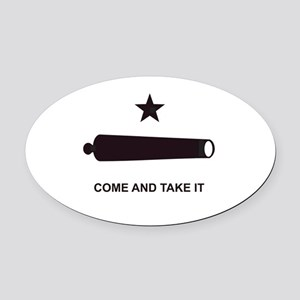 COMEANDTAKEITBEACHBAGTEMPLATE Oval Car Magnet