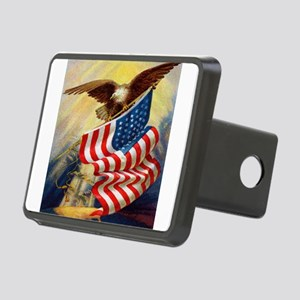 eagleflagjournal Rectangular Hitch Cover