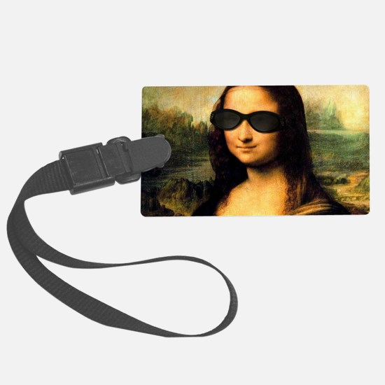 MONA LISA Large Luggage Tag