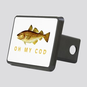 OH MY COD Rectangular Hitch Cover