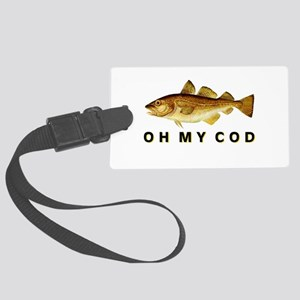 OH MY COD Large Luggage Tag