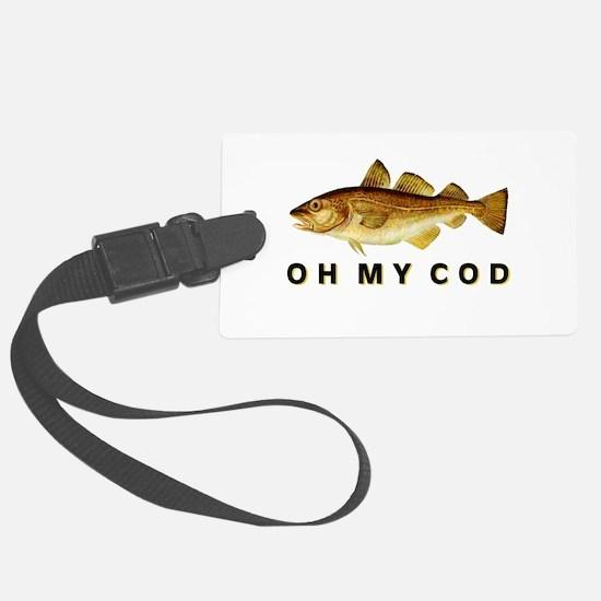 OH MY COD Luggage Tag