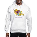 Funny cartoon fish Hooded Sweatshirt