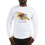 Funny cartoon fish Long Sleeve T-Shirt