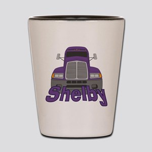 Trucker Shelby Shot Glass