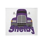 Trucker Shelby Throw Blanket