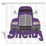 Trucker Shelby Shower Curtain