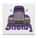 Trucker Shelby Tile Coaster