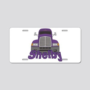 Trucker Shelby Aluminum License Plate