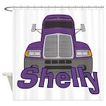 Trucker Shelly Shower Curtain